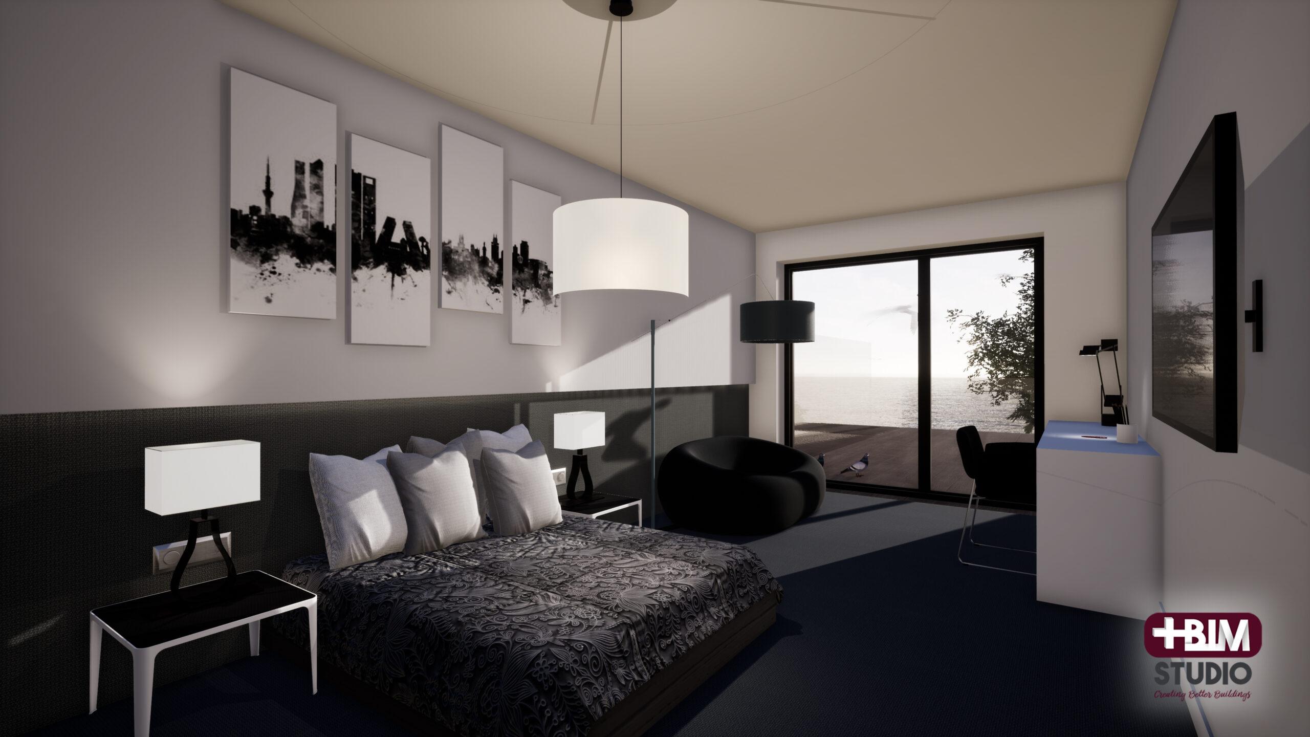MASBIM - Hotel Foz - Dormitorio