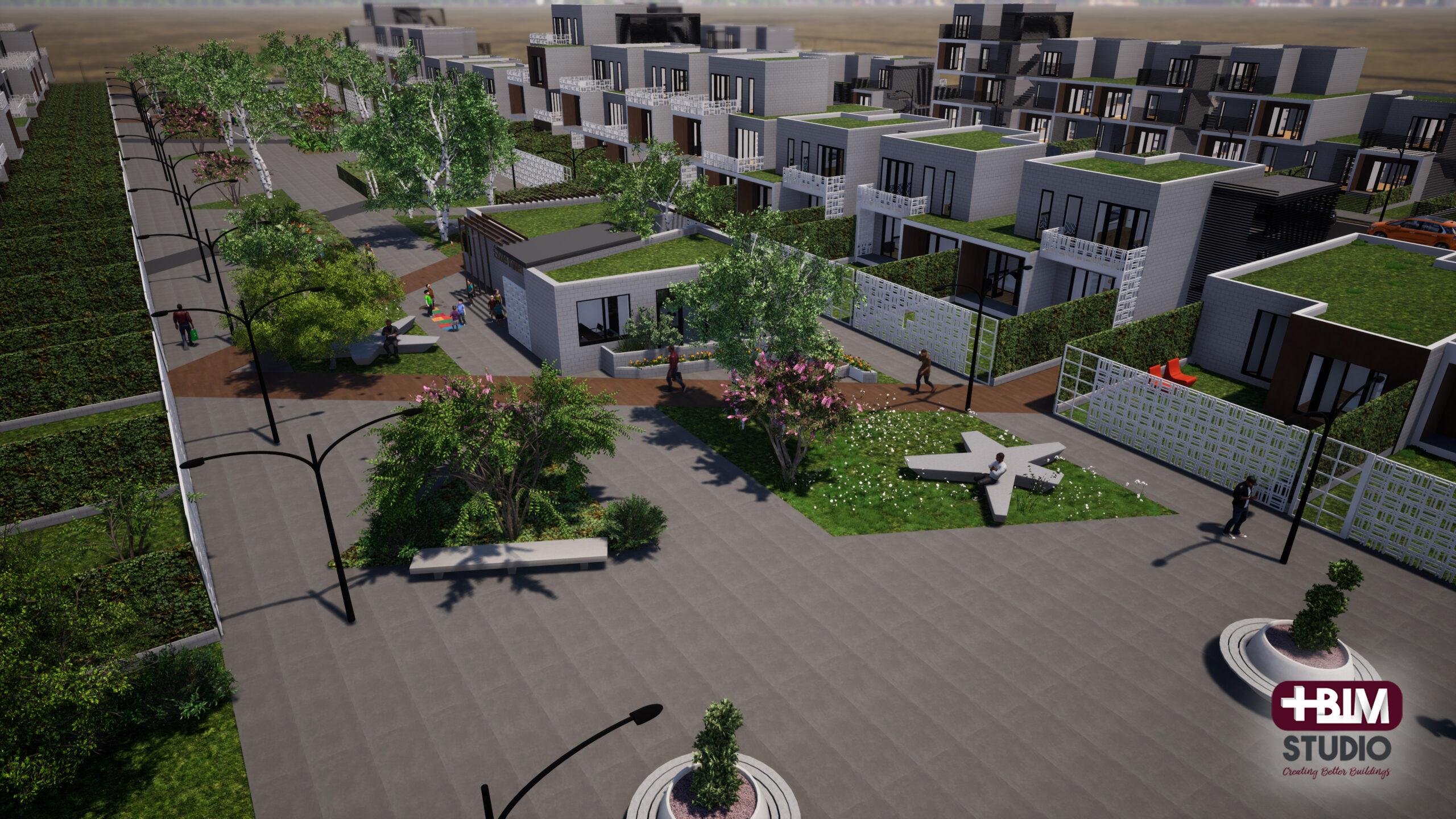 Urbanización de Vivienda Social – Brazzaville