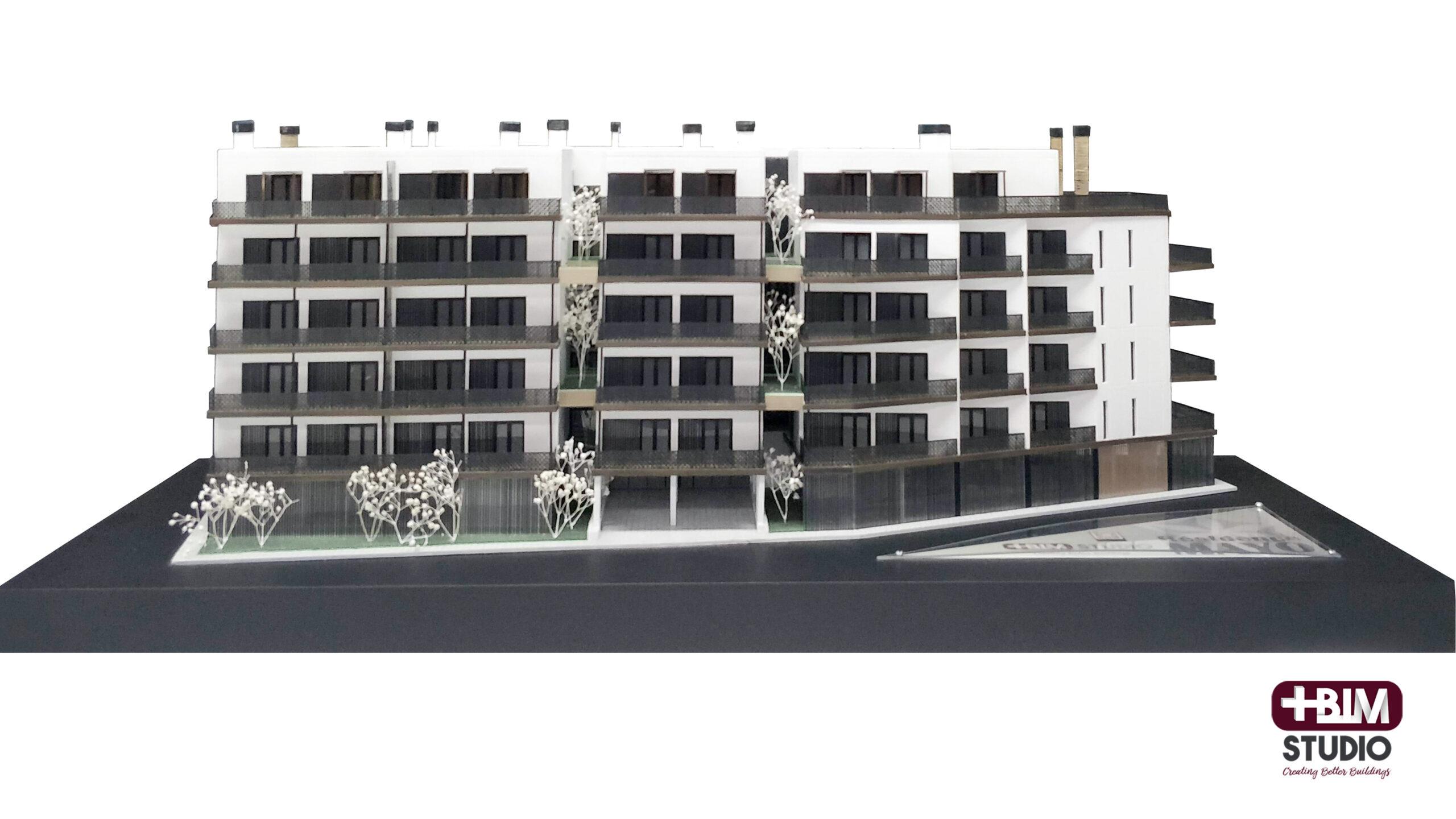 MASBIM - Residence Mayo - Maqueta