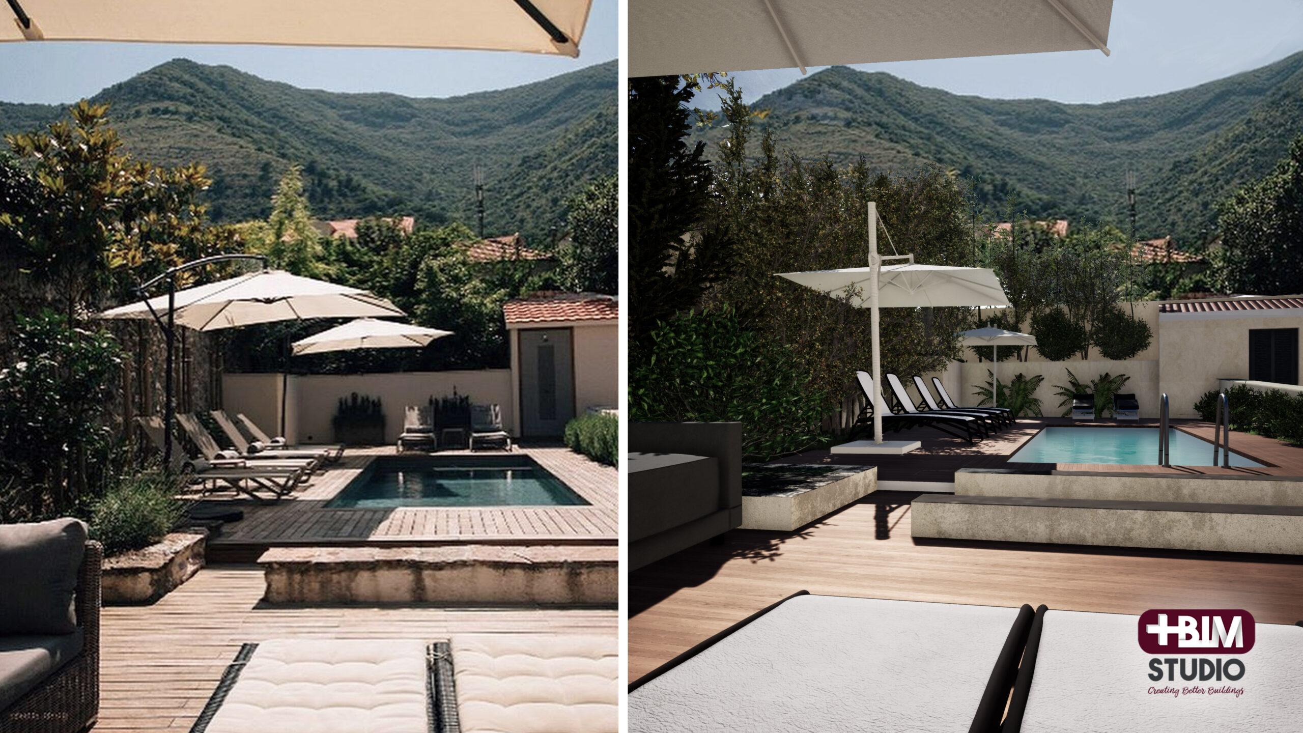 MASBIM - Montenegro - Zona piscina